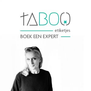 Taboo labels book an expert