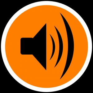 picto van geluid / luidspreker