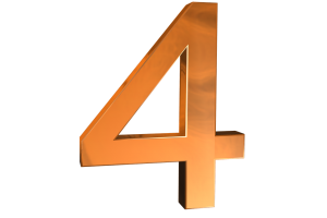oranje nummer 4