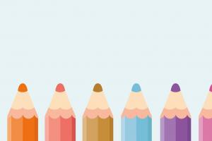 potloden in verschillende kleuren