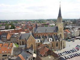 stadsplein in Sint-Truiden