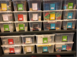 foto van verschillende dozen (vaardigheidskoffers)