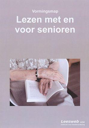 Kaft van de vormingsmap Lezen met en voor senioren