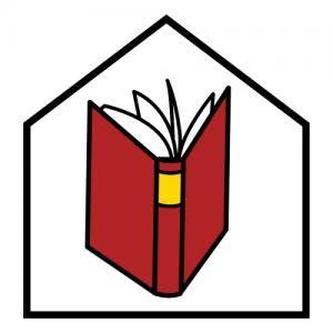 Picto van boek in huis
