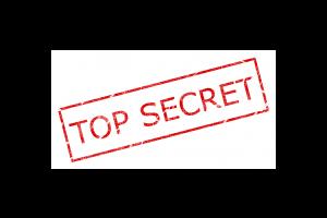 stempel met TOP SECRET