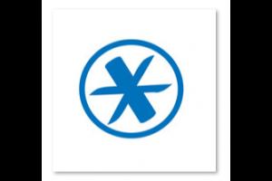 logo van site 'lerenvantoetsen' : sterretje in cirkel