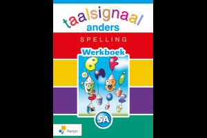 cover van werkboek spelling Taalsignaal Anders 5