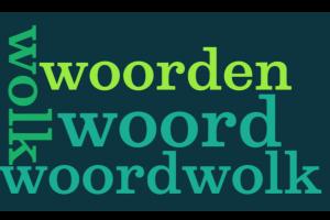 woordenwolk met de woorden : woord, woorden, wolk, woordenwolk