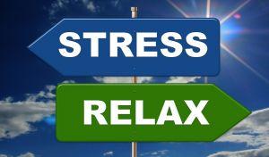richtingwijzers stress en relax