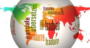 Globe in different languages