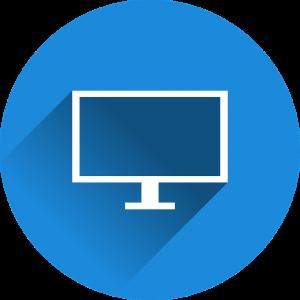 picto van een tv