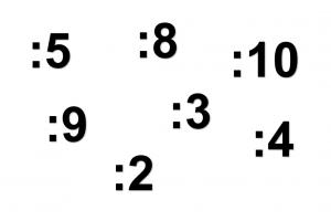 : 2/3/4/5/8/9/10