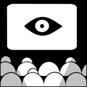 Pictogram van cinema