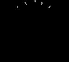 tekening van drie mannetjes die elkaar een high five geven