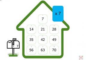 Tafelhuisje van de maaltafel 7