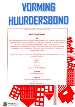 Informatie over vorming Huurbingo