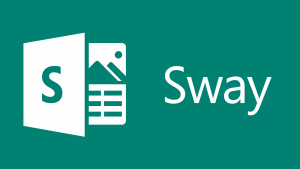 The logo of the Sway software.