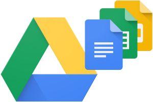 Logo's van Google Drive en Docs