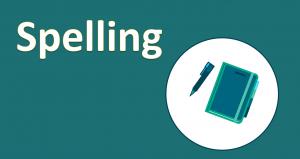 Spelling met een pen en schriftje ernaast
