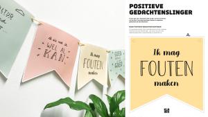 de positieve gedachtenslinger