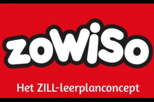 rode achtergrond en witte letters:  zowiso, het zill-leerplanconcept