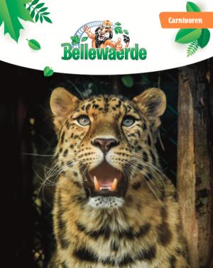 Cover bundel carnivoren Bellewaerde