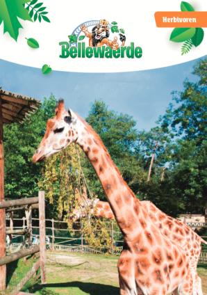 Cover bundel herbivoren Bellewaerde