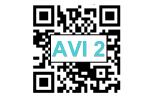 QR code and text AVI 2