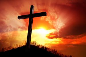 kruis op een heuvel