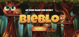 schermafbeelding site Bieblo, op zoek naar een boek