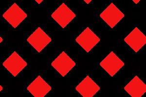 zwarte en rode ruiten door elkaar