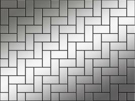 witte rechthoeken door elkaar