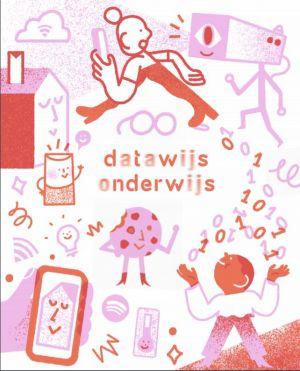 De cover van de mediawegwijzer over datawijs onderwijs.