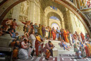fresco van filosofen