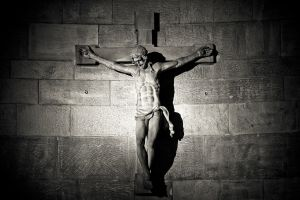 kruisbeeld met Jezus