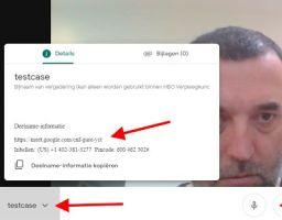 Wouter in Google Hangout