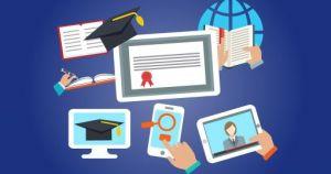 Afbeeldingen rond online leren