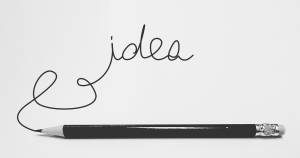 potlood dat idea schreef