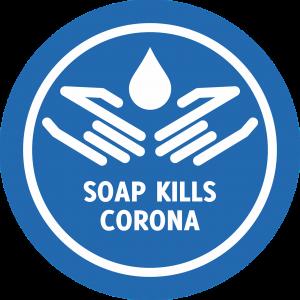 zeep doodt corona