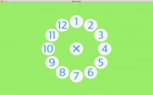 Maaltafelcirkel uit Math Loops