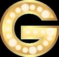 gouden letter G