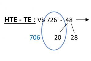 HTE-TE. vb; 726-48 = 726-20-28