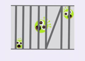 cironavirussen in de gevangenis