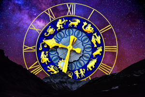 Romeinse cijfers op een klok