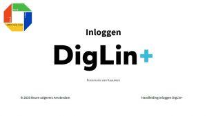 Inloggen DigLIn+