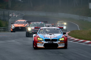 racewedstrijd met auto's