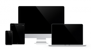 Verschillende devices van het merk Apple.