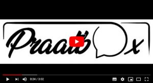 Praatbox logo in YouTube