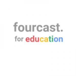 Fourcast for Education logo
