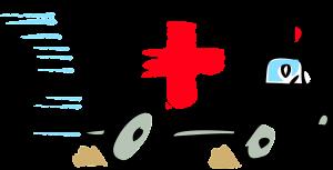 Clipart van een ziekenwagen